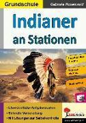 Cover-Bild zu Indianer an Stationen