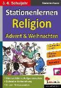 Cover-Bild zu Stationenlernen Religion von Kraus, Stefanie