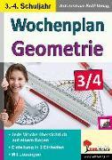 Cover-Bild zu Wochenplan Geometrie / Klasse 3-4 (eBook) von Kohl-Verlag, Autorenteam