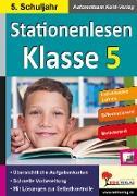 Cover-Bild zu Stationenlesen Klasse 5 (eBook) von Kohl-Verlag, Autorenteam