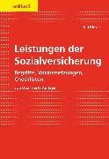 Cover-Bild zu Leistungen der Sozialversicherung (eBook) von Kieser, Ueli