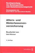 Cover-Bild zu Alters- und Hinterlassenenversicherung von Kieser, Ueli (Bearb.)