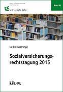 Cover-Bild zu Sozialversicherungsrechtstagung 2015 von Kieser, Ueli