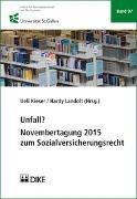 Cover-Bild zu Unfall? von Kieser, Ueli (Hrsg.)