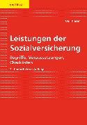 Cover-Bild zu Leistungen der Sozialversicherung von Kieser, Ueli