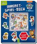 Cover-Bild zu PAW Patrol Magnet-Spiel-Buch von Schwager & Steinlein Verlag