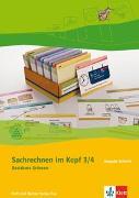 Cover-Bild zu Bd. 3/4: Karteikarten - Sachrechnen im Kopf von Wittmann, Erich Ch