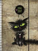 Cover-Bild zu Emotions weekly A7 Funny Cat 2016/2017