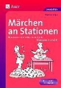 Cover-Bild zu Märchen an Stationen Klasse 3/4 von Knipp, Martina