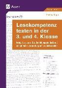 Cover-Bild zu Lesekompetenz testen in der 3. und 4. Klasse von Knipp, Martina