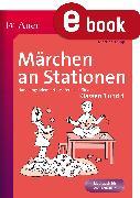 Cover-Bild zu Märchen an Stationen (eBook) von Knipp, Martina