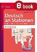 Cover-Bild zu Rechtschreibung an Stationen 3-4 (eBook) von Knipp, Martina