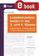 Cover-Bild zu Lesekompetenz testen in der 3. und 4. Klasse (eBook) von Knipp, Martina