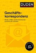 Cover-Bild zu Duden Ratgeber - Geschäftskorrespondenz von Stephan, Ingrid