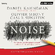 Cover-Bild zu Noise (Audio Download) von Kahneman, Daniel