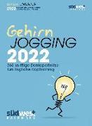 Cover-Bild zu Gehirnjogging 2022 Tagesabreißkalender. 366 knifflige Denksporträtsel fürs tägliche Kopftraining