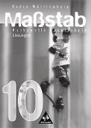 Cover-Bild zu Massstab: Mathematik für Hauptschulen - Ausgabe 1998 Baden-Württemberg 7. - 10. Schuljahr