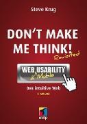 Cover-Bild zu Don't make me think! (eBook) von Krug, Steve