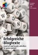 Cover-Bild zu Erfolgreiche Blogtexte (eBook) von Diehm, Susanne