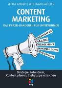 Cover-Bild zu Content Marketing. Das Praxis-Handbuch für Unternehmen von Ansari, Sepita