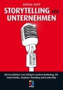 Cover-Bild zu Storytelling für Unternehmen von Rupp, Miriam