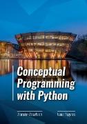 Cover-Bild zu Conceptual Programming with Python von Altenkirch, Thorsten