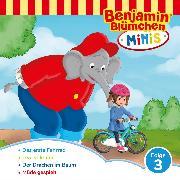 Cover-Bild zu Benjamin Blümchen - Benjamin Minis - Folge 03: Das erste Fahrrad (Audio Download) von Andreas, V.