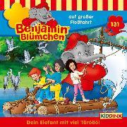 Cover-Bild zu Benjamin Blümchen - Folge 131: auf großer Floßfahrt (Audio Download) von Andreas, Vincent