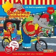 Cover-Bild zu Benjamin Blümchen - Folge 148: als Rettungselefant (Audio Download) von Andreas, V.