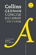 Cover-Bild zu Collins German Concise Dictionary, 5th Edition von HarperCollins Publishers Ltd.