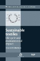 Cover-Bild zu Sustainable Textiles von Blackburn, Richard (University of Leeds, UK) (Hrsg.)