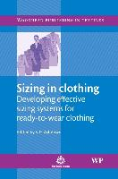 Cover-Bild zu Sizing in Clothing von Ashdown, S. (Cornell University, USA) (Hrsg.)