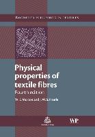 Cover-Bild zu Physical Properties of Textile Fibres von Hearle, J. W. S.
