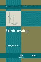Cover-Bild zu Fabric Testing von Hu, Jinlian (Hong Kong Polytechnic University, Hong Kong) (Hrsg.)