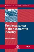 Cover-Bild zu Textile Advances in the Automotive Industry von Shishoo, Roshan (Shishoo Consulting, Sweden) (Hrsg.)