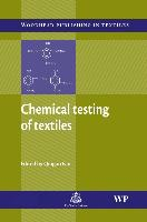 Cover-Bild zu Chemical Testing of Textiles von Fan, Q (University of Massachusetts at Dartmouth, USA) (Hrsg.)