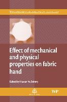 Cover-Bild zu Effect of Mechanical and Physical Properties on Fabric Hand von Behery, H (Professor Emeritus, Clemson University, USA) (Hrsg.)