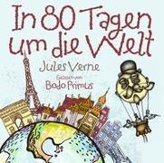 Cover-Bild zu In 80 Tagen Um Die Welt von Jules Verne von Gelesen Von Bodo Primus (Komponist)