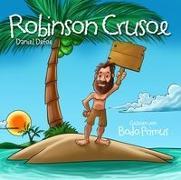 Cover-Bild zu Robinson Crusoe Von Daniel Defoe von Gelesen Von Bodo Primus (Komponist)