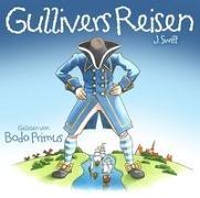 Cover-Bild zu Gullivers Reisen Von J.Swift von Gelesen Von Bodo Primus (Komponist)
