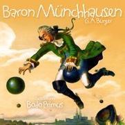 Cover-Bild zu Baron Münchhausen Von G.A.Bürger von Gelesen Von Bodo Primus (Komponist)