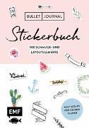 Cover-Bild zu Bullet Journal - Stickerbuch: Band 1: 900 Schmuck- und Layoutelemente