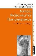 Cover-Bild zu Nation - Nationalität - Nationalismus (eBook) von Borggräfe, Henning