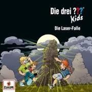 Cover-Bild zu Die drei ??? Kids 72: Die Laser-Falle von Pfeiffer, Boris