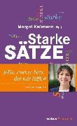 Cover-Bild zu Starke Sätze (eBook) von Käßmann, Margot (Hrsg.)