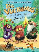 Cover-Bild zu Die Vulkanos erobern eine Insel (eBook) von Gehm, Franziska