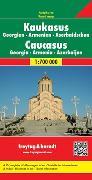 Cover-Bild zu Freytag-Berndt und Artaria KG (Hrsg.): Kaukasus - Georgien - Armenien - Aserbaidschan. 1:700'000