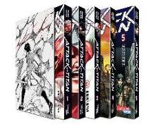 Cover-Bild zu Attack on Titan, Bände 01-05 von Isayama, Hajime