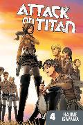 Cover-Bild zu Attack on Titan 4 von Isayama, Hajime