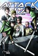 Cover-Bild zu Attack on Titan, Band 10 von Isayama, Hajime